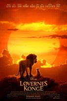 The Lion King - Danish Movie Poster (xs thumbnail)