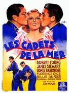 Navy Blue and Gold - French Movie Poster (xs thumbnail)