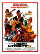 The Man With The Golden Gun - French Movie Poster (xs thumbnail)