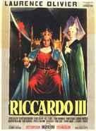 Richard III - Italian Movie Poster (xs thumbnail)