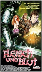 Flesh And Blood - German VHS cover (xs thumbnail)