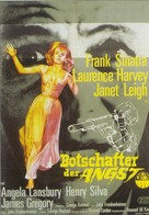 The Manchurian Candidate - German Movie Poster (xs thumbnail)