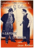 The Whole Town's Talking - Spanish Movie Poster (xs thumbnail)