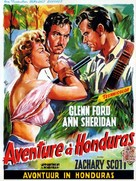 Appointment in Honduras - Belgian Movie Poster (xs thumbnail)