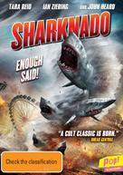 Sharknado - Australian DVD movie cover (xs thumbnail)