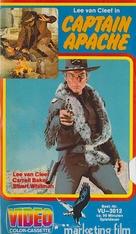 Captain Apache - German VHS movie cover (xs thumbnail)