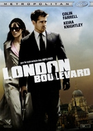 London Boulevard - French Movie Cover (xs thumbnail)