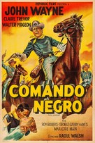 Dark Command - Argentinian Movie Poster (xs thumbnail)