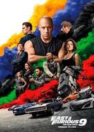 Fast & Furious 9 - Norwegian Movie Poster (xs thumbnail)