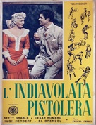 The Beautiful Blonde from Bashful Bend - Italian Movie Poster (xs thumbnail)