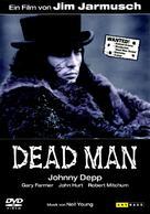 Dead Man - German DVD movie cover (xs thumbnail)