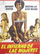 Escape from Hell - Spanish Movie Poster (xs thumbnail)