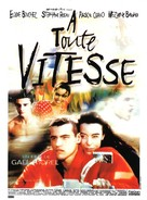 À toute vitesse - French Movie Poster (xs thumbnail)