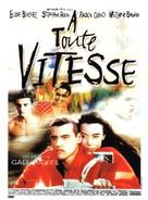À toute vitesse - French Movie Poster (xs thumbnail)