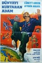 Dünyayi kurtaran adam - Turkish Movie Poster (xs thumbnail)