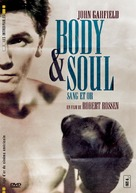 Body and Soul - French DVD movie cover (xs thumbnail)
