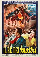 Gojira no gyakushû - Italian Movie Poster (xs thumbnail)