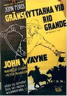 Rio Grande - Swedish Movie Poster (xs thumbnail)
