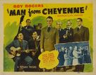 Man from Cheyenne - Movie Poster (xs thumbnail)