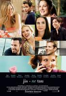He's Just Not That Into You - Lithuanian Movie Poster (xs thumbnail)