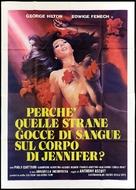 Perchè quelle strane gocce di sangue sul corpo di Jennifer? - Italian Movie Poster (xs thumbnail)