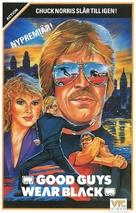 Good Guys Wear Black - Swedish VHS movie cover (xs thumbnail)