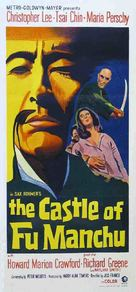 The Castle of Fu Manchu - Australian Movie Poster (xs thumbnail)