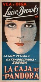 Die Büchse der Pandora - Argentinian Movie Poster (xs thumbnail)
