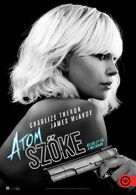 Atomic Blonde - Hungarian Movie Poster (xs thumbnail)