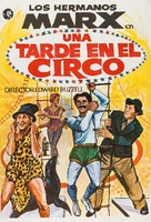 At the Circus - Spanish Re-release movie poster (xs thumbnail)