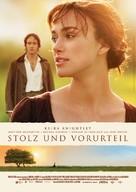 Pride & Prejudice - German Movie Poster (xs thumbnail)