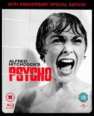 Psycho - British Blu-Ray movie cover (xs thumbnail)