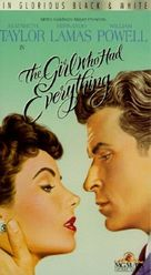 The Girl Who Had Everything - VHS cover (xs thumbnail)