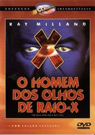 X - Brazilian DVD cover (xs thumbnail)