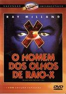X - Brazilian DVD movie cover (xs thumbnail)
