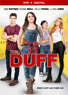 The DUFF - DVD movie cover (xs thumbnail)