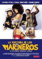 La dottoressa preferisce i marinai - Spanish DVD movie cover (xs thumbnail)