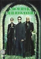 The Matrix Reloaded - Czech DVD movie cover (xs thumbnail)