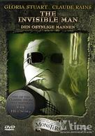 The Invisible Man - DVD movie cover (xs thumbnail)