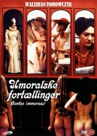 Contes immoraux - Danish DVD cover (xs thumbnail)