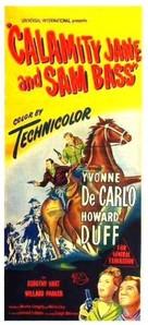 Calamity Jane and Sam Bass - Australian Movie Poster (xs thumbnail)