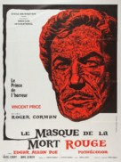 The Masque of the Red Death - French Movie Poster (xs thumbnail)