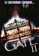 The Gate II: Trespassers - French Movie Cover (xs thumbnail)