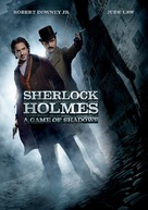 Sherlock Holmes: A Game of Shadows - DVD cover (xs thumbnail)