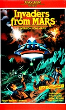 Invaders from Mars - German VHS movie cover (xs thumbnail)
