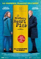 Le mystère Henri Pick - Italian Movie Poster (xs thumbnail)