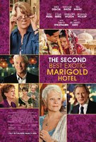 The Second Best Exotic Marigold Hotel - Movie Poster (xs thumbnail)