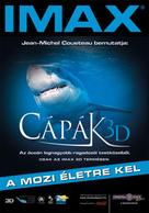 Sharks 3D - Hungarian Movie Poster (xs thumbnail)