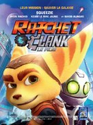 Ratchet and Clank - French Movie Poster (xs thumbnail)