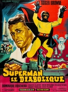 L'invincibile Superman - French Movie Poster (xs thumbnail)